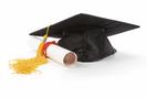 graduate cap and diploma